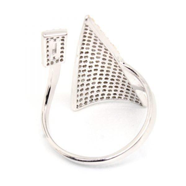 925 Sterling Silver Ring 3.780 g