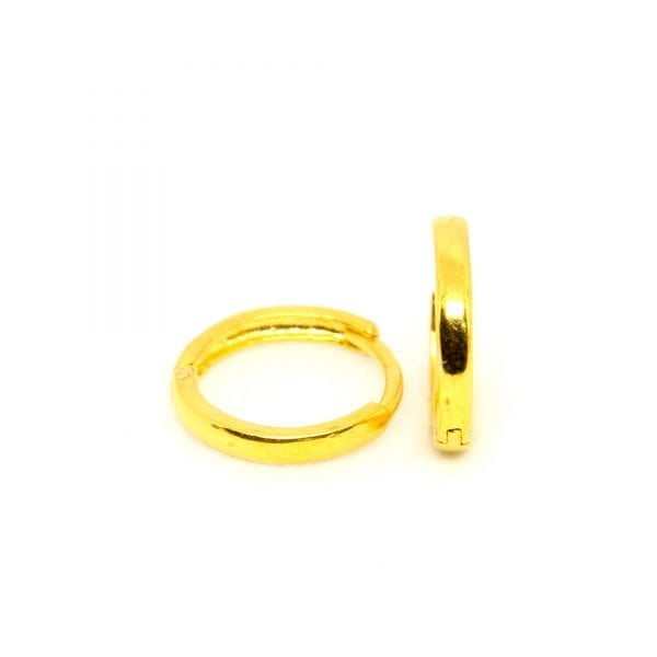 Plain Gold Bali 0.570 g light weight 18 kt